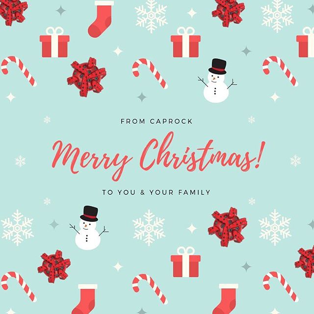 CapRock wishes you and your family a Merry Christmas! #MerryChristmas