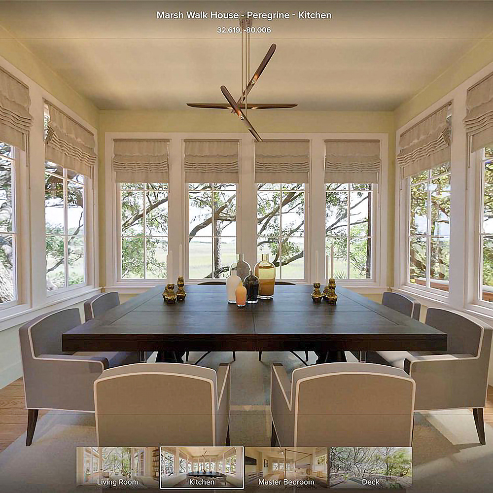 3D virtual tours - We create virtual reality tours of built-for-sale luxury homes and high-end buildings... viewable online in any web browser, on Facebook, and VR headsets like Oculus.