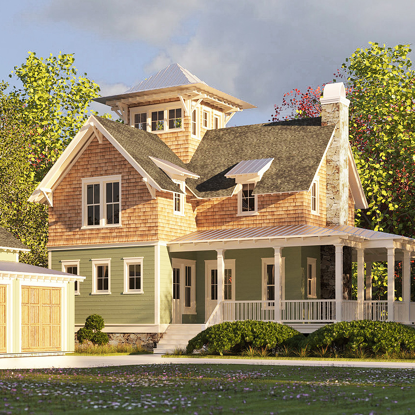 Lifelike renderings - We handcraft vivid, highly detailed renderings from your architect's drawings and files... and if needed, we'll communicate directly with him or her so it's easy for you.