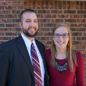 Pastor Abe and his wife Kelsey