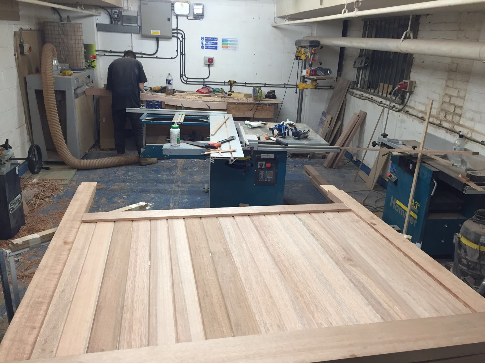 - Here is a quick run through a set of gates we recently made in the workshop.
