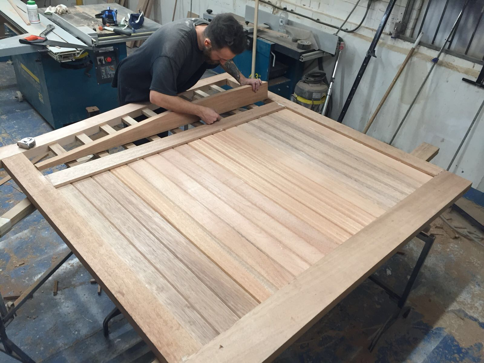 - Made with both machines and hand tools we use traditional ways of working when making joinery items.