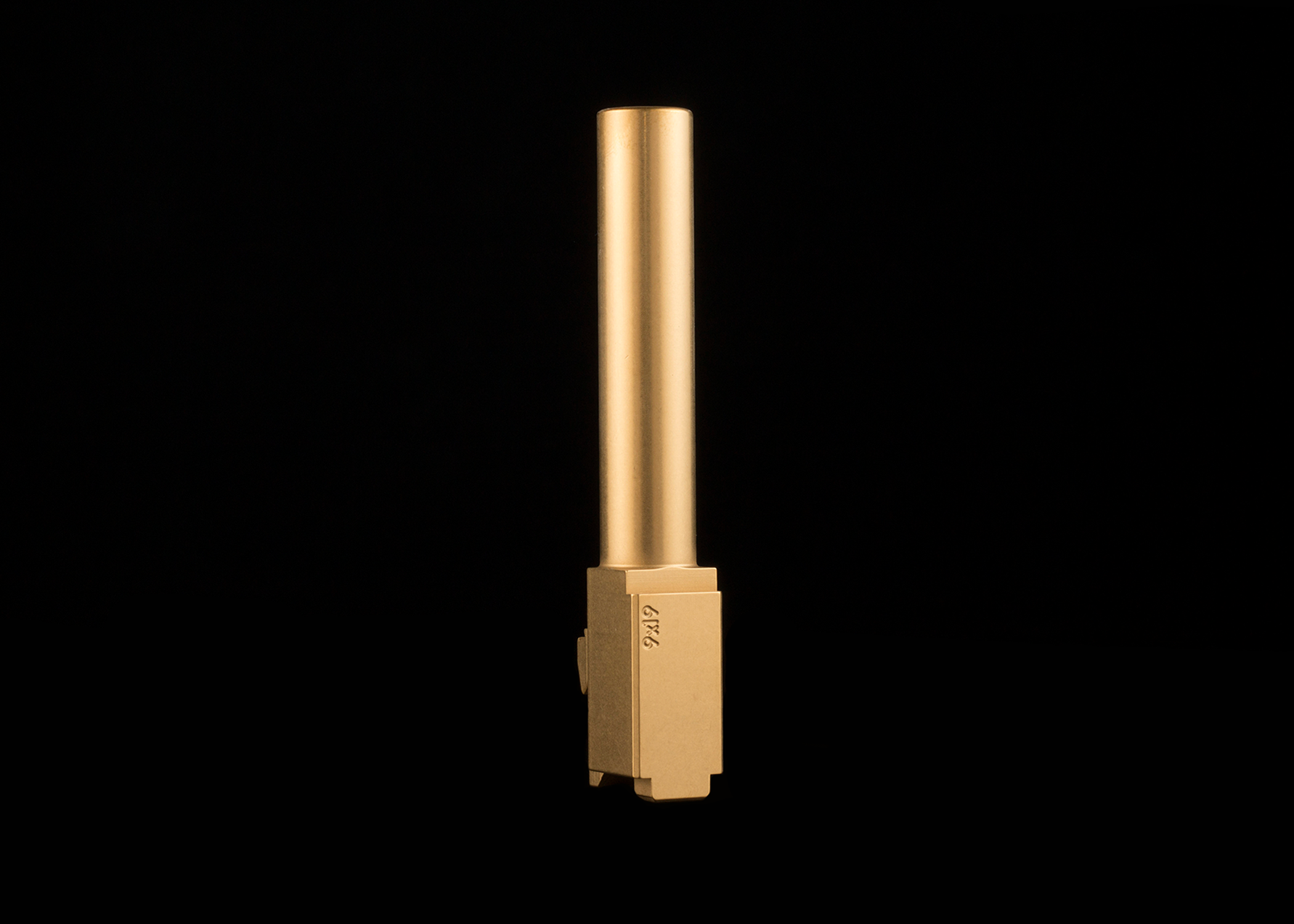 """Color:  gold   Thickness Range:  1 to 5 microns (~0.00004 to 0.0002"""")   Hardness:  2200 to 2400 Hv ( info on vickers hardness )   Maximum Operating Temperature:  600º C (1100º F)   Lubricity:  0.5 coefficient of friction   Wear Resistance:  Excellent"""