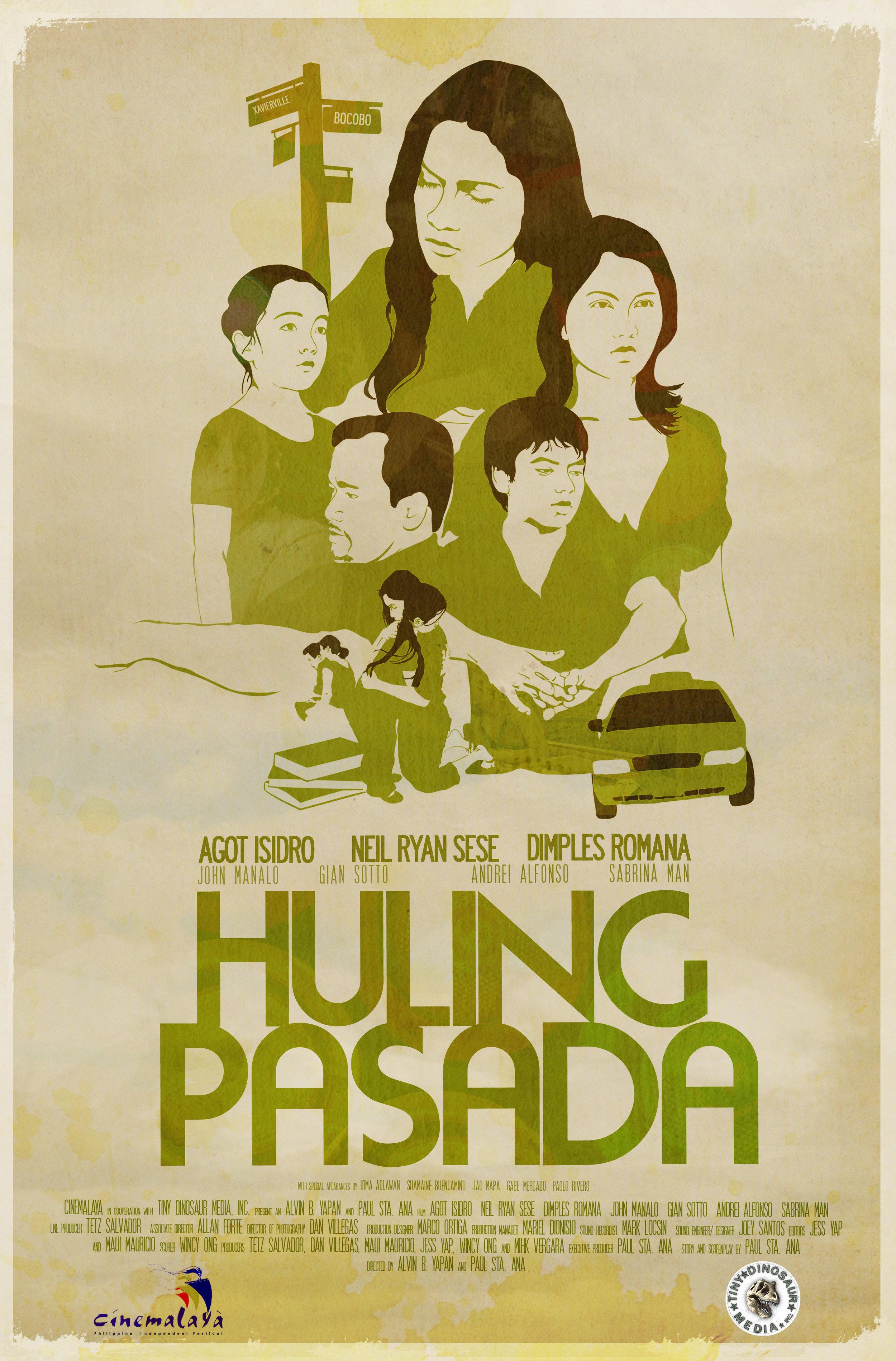 film poster graphic design company artist studio illustration green grunge car faces old paper metro manila philippines
