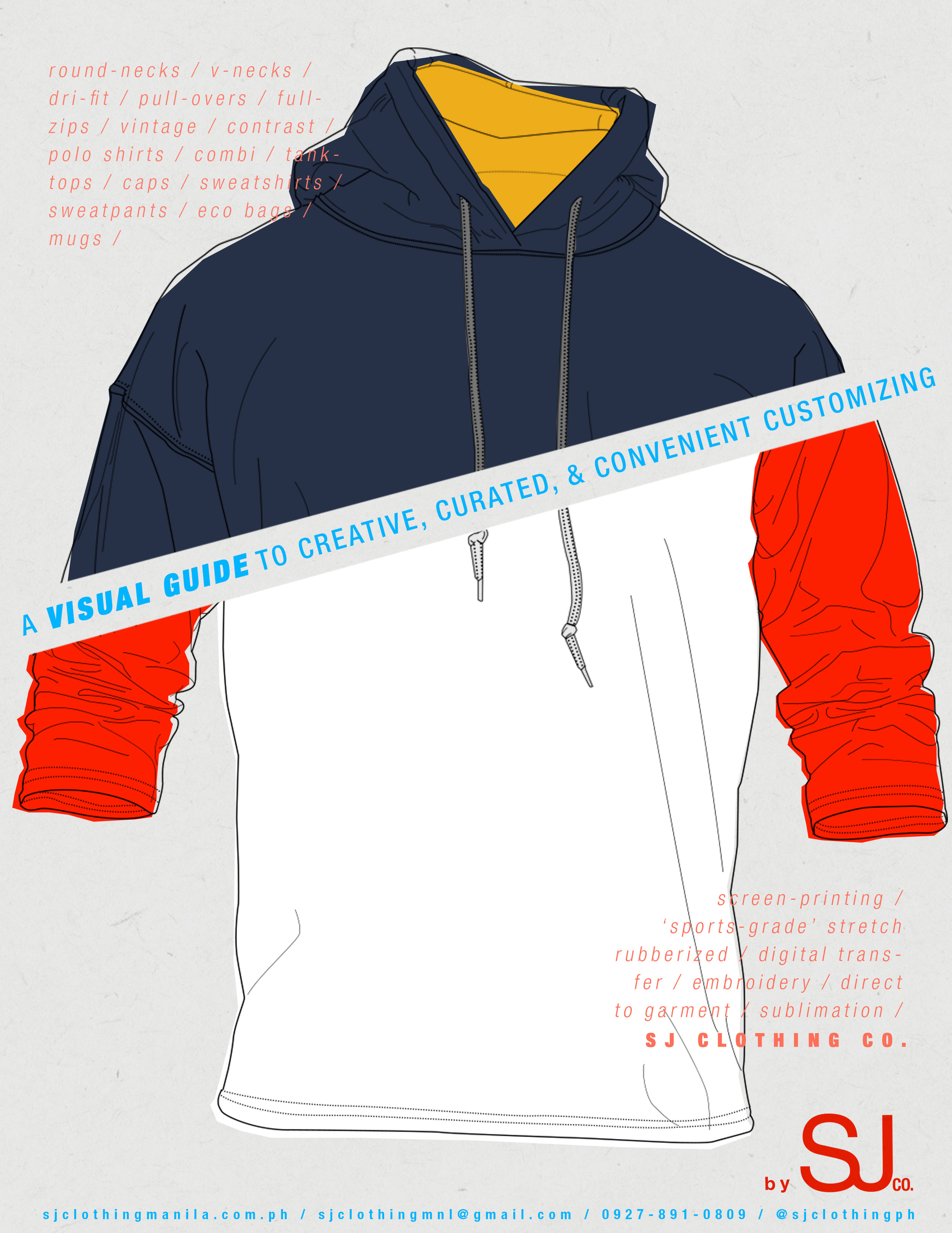 brochure graphic design company artist studio illustration typography metro manila philippines