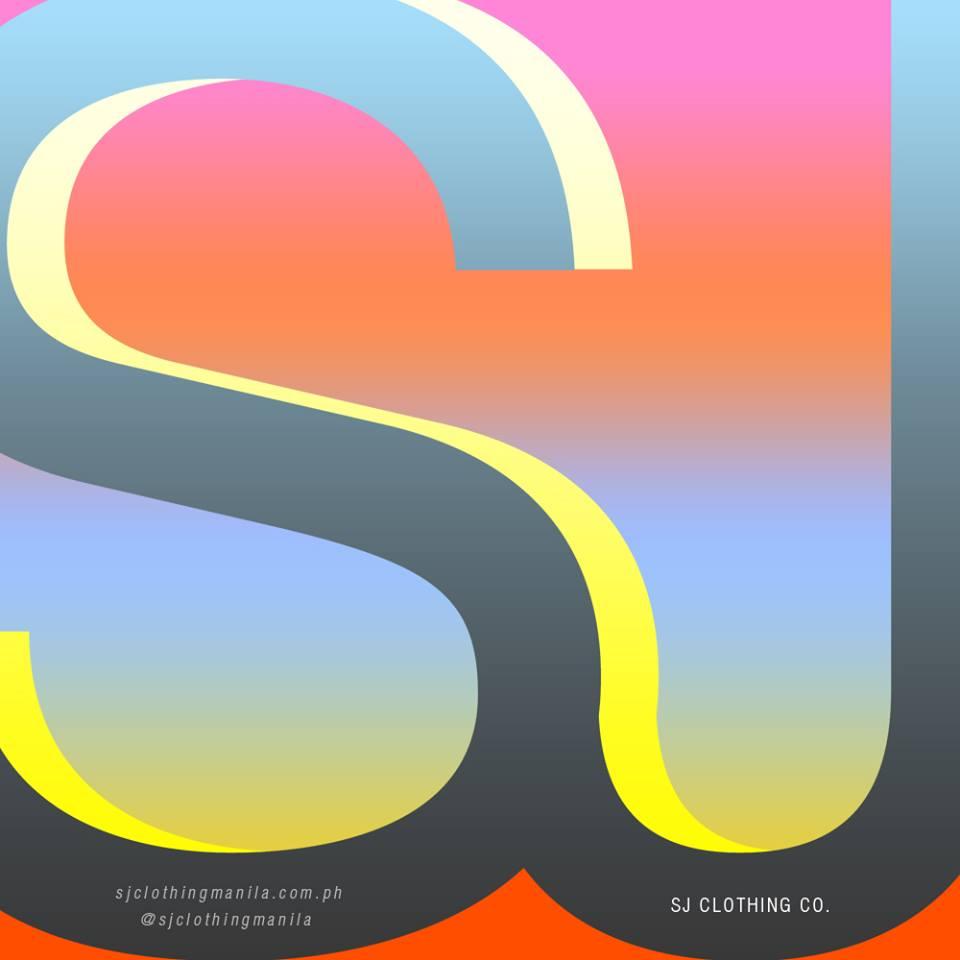 typography yellow orange gradient gray graphic design company artist studio logo social media marketing clothing metro manila philippines