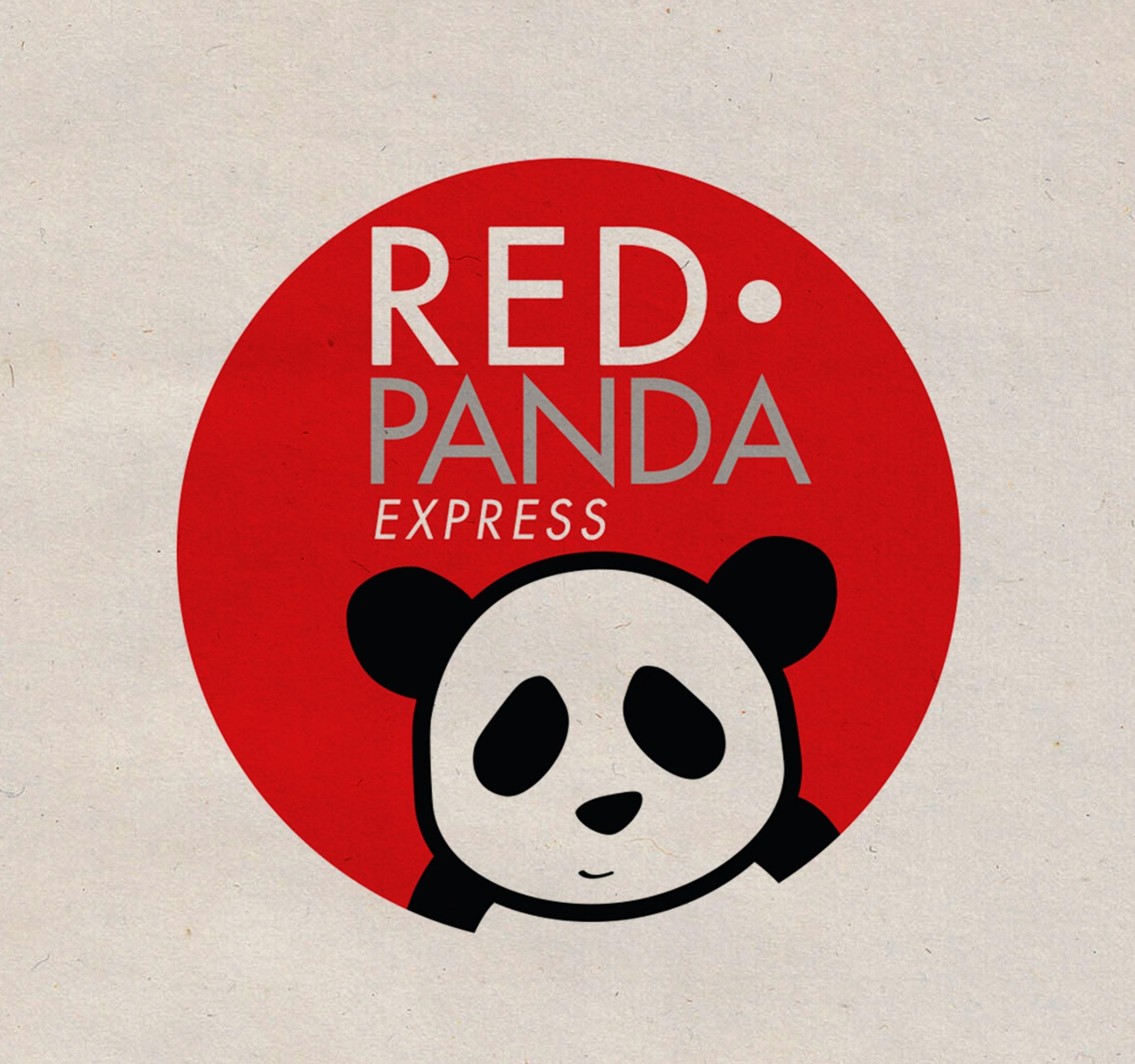red panda logo circle round vector graphic design company artist studio art layout metro Manila Philippines
