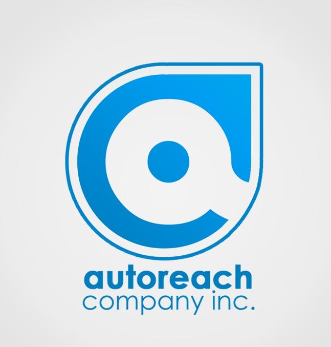 blue white gradient round dot logo graphic design company artist studio vector metro manila Philippines