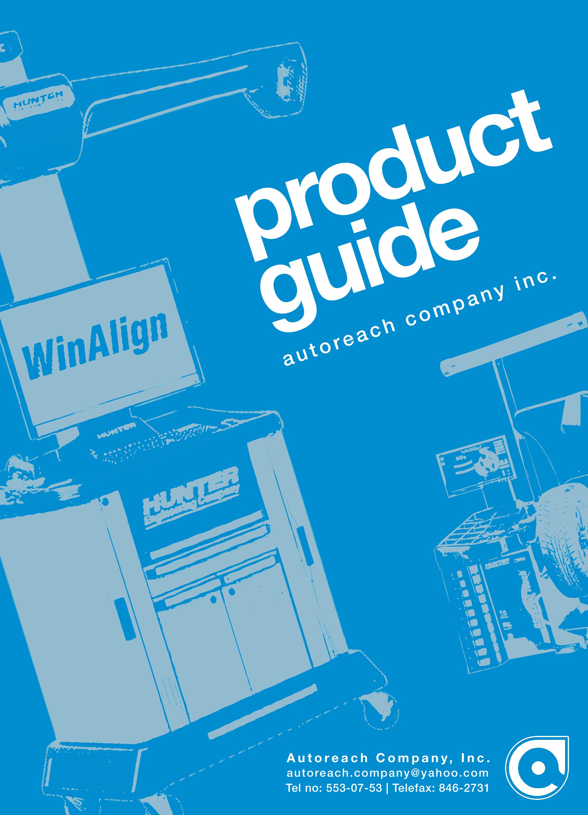 blue white graphic design company artist studio product brochure catalog layout metro manila Philippines