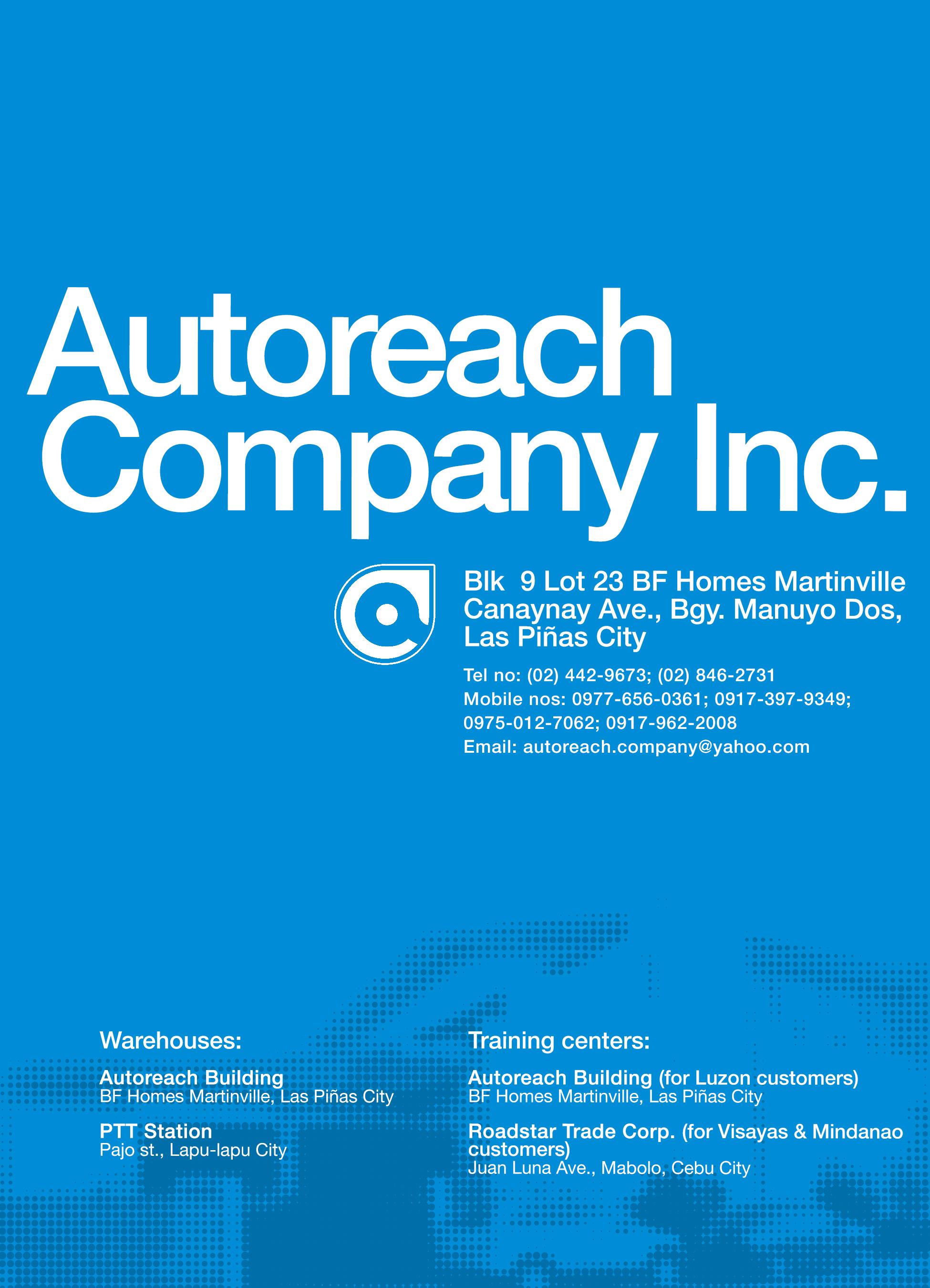 product brochure graphic design company artist studio metro manila philippines blue typography