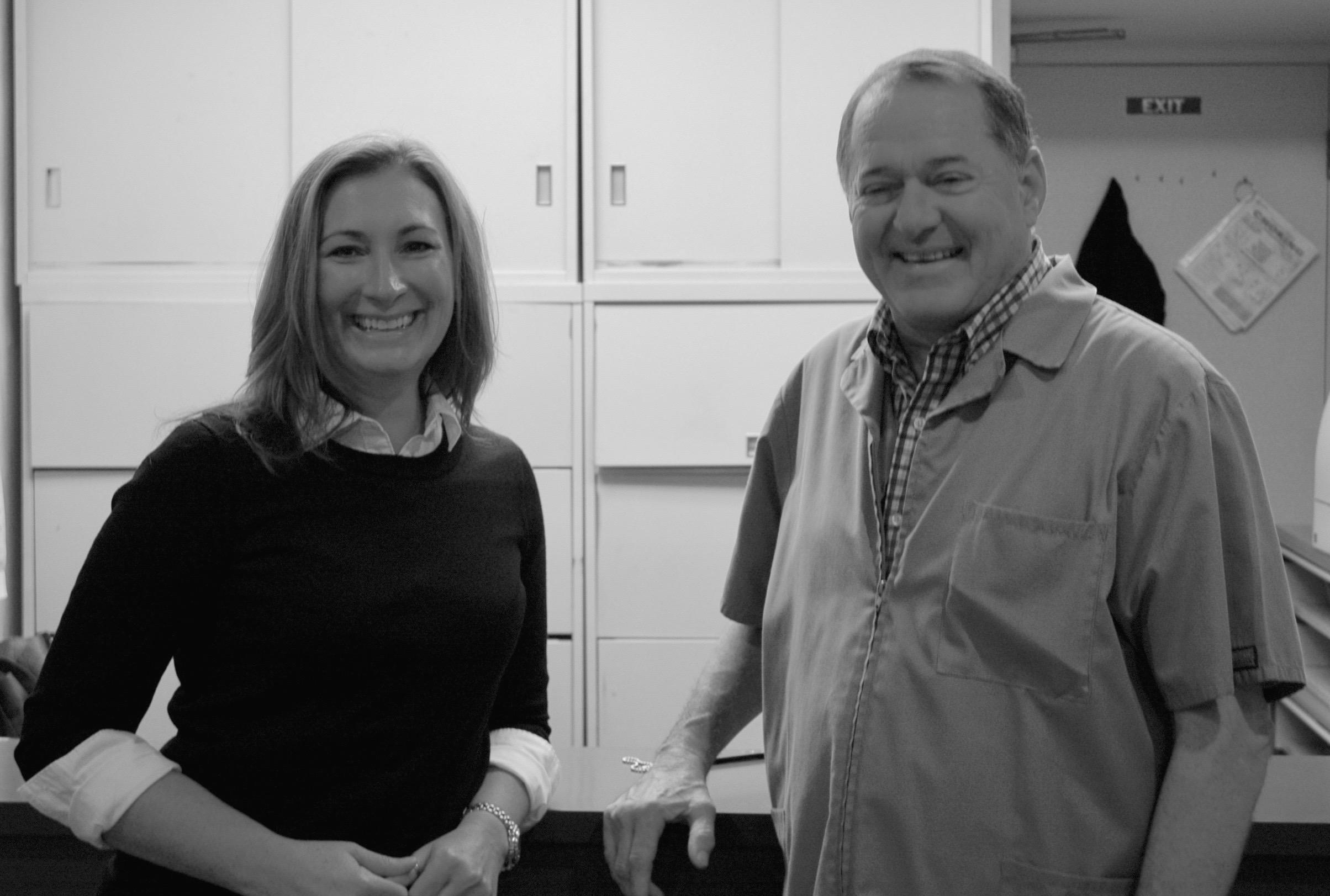 Alexa S. Keegan DDS FICOI with David M. Hannan DDS, retired.