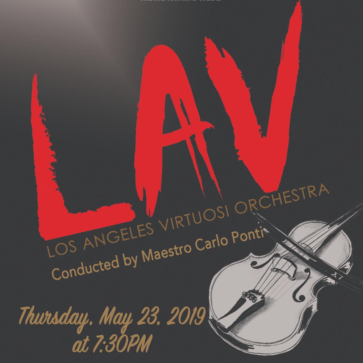 Carlo Ponti & The Los Angeles Virtuosi Orchestra
