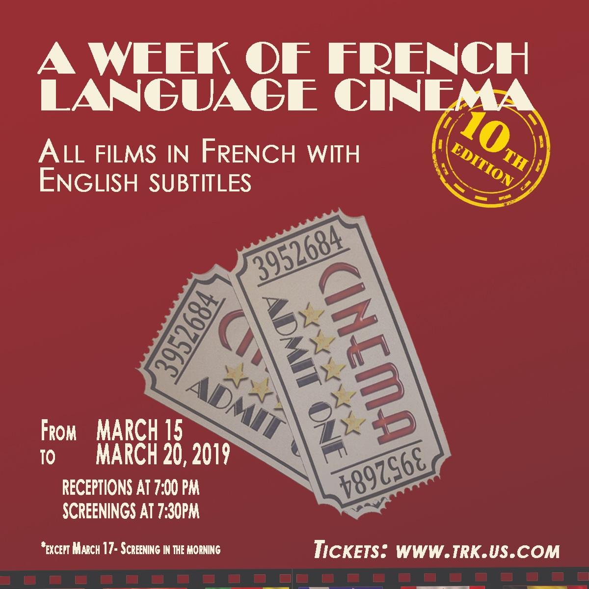 A Week Of French Language Cinema
