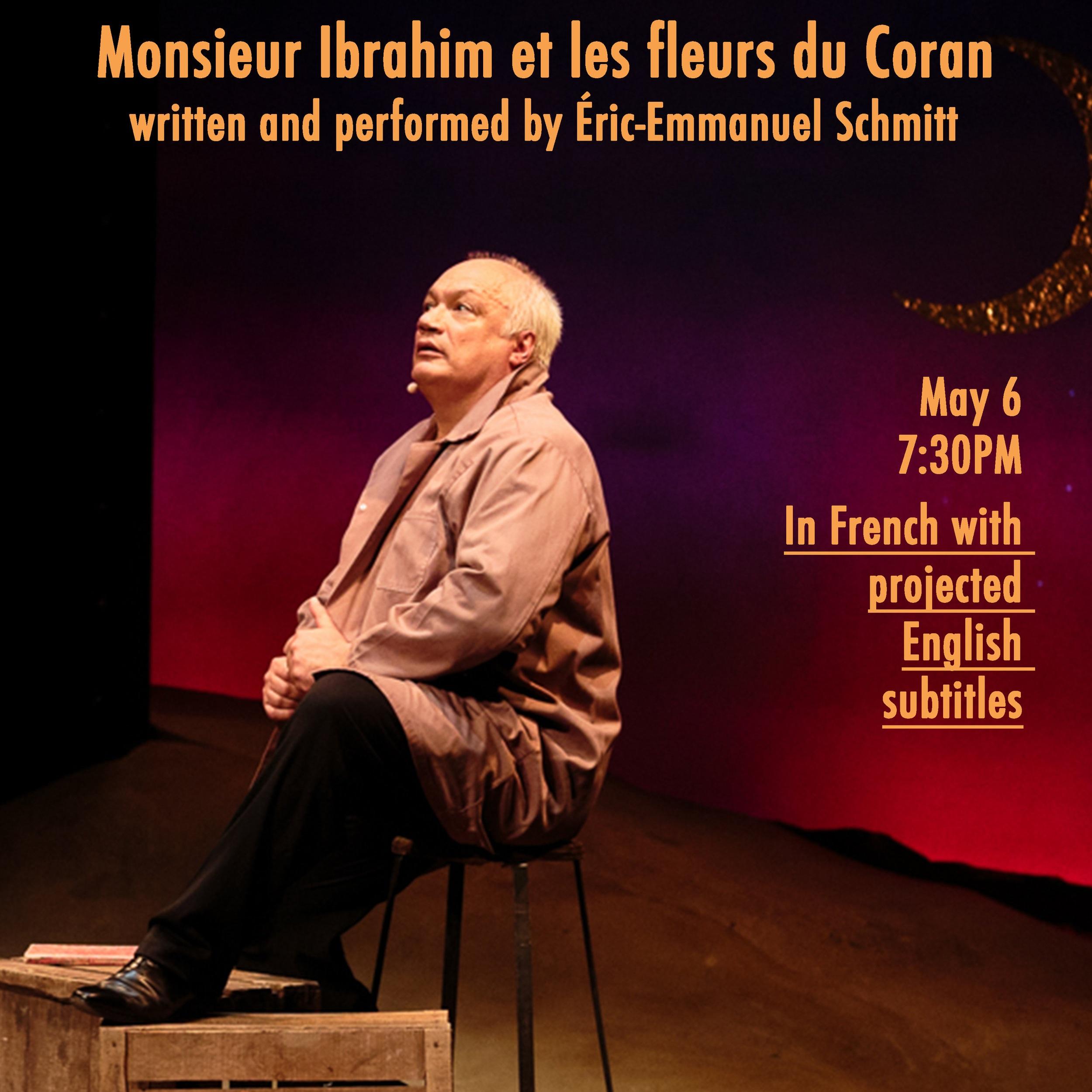 Monsieur Ibrahim et les fleurs du Coran by Eric-Emmanuel Schmitt