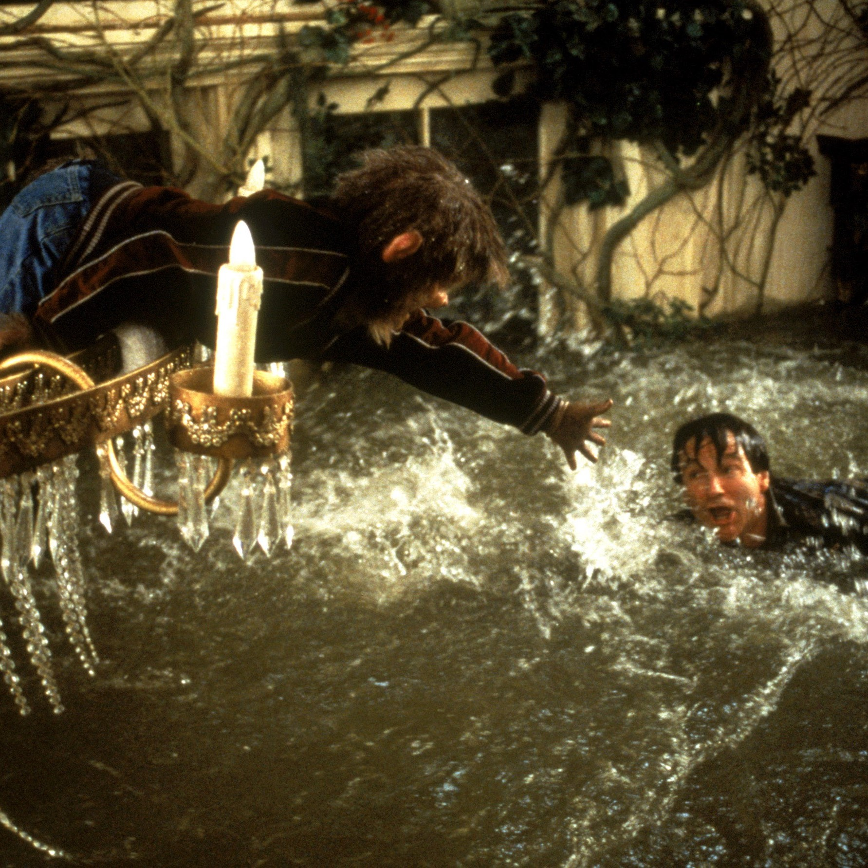 Okay maybe this flood was just from playing too much Jumanji.
