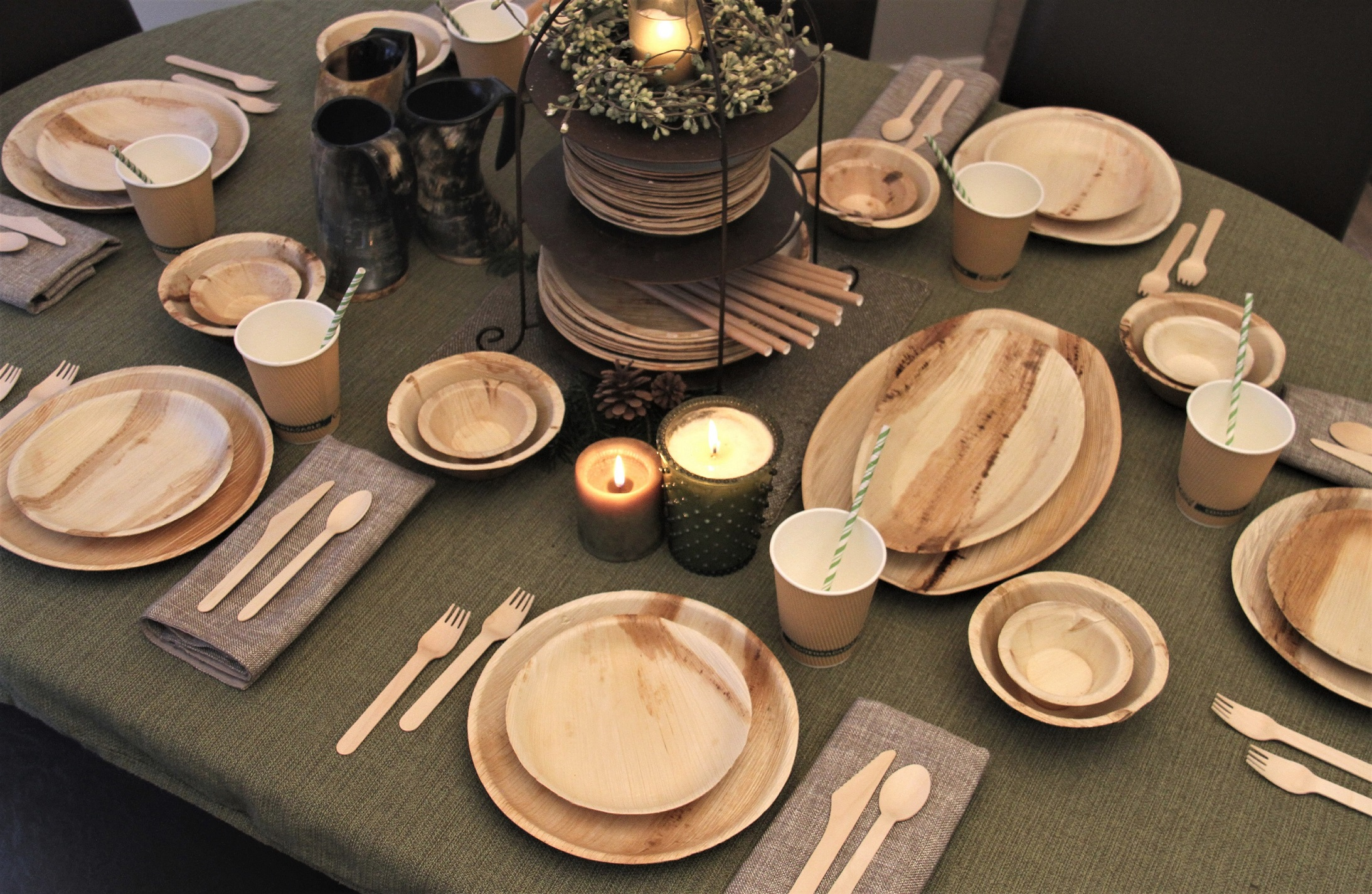 Ritualware - Disposable dishes for your rituals, retreats, festivals, and religious gatherings. Sustainable, biodegradable, environmental, and made from the Earth.
