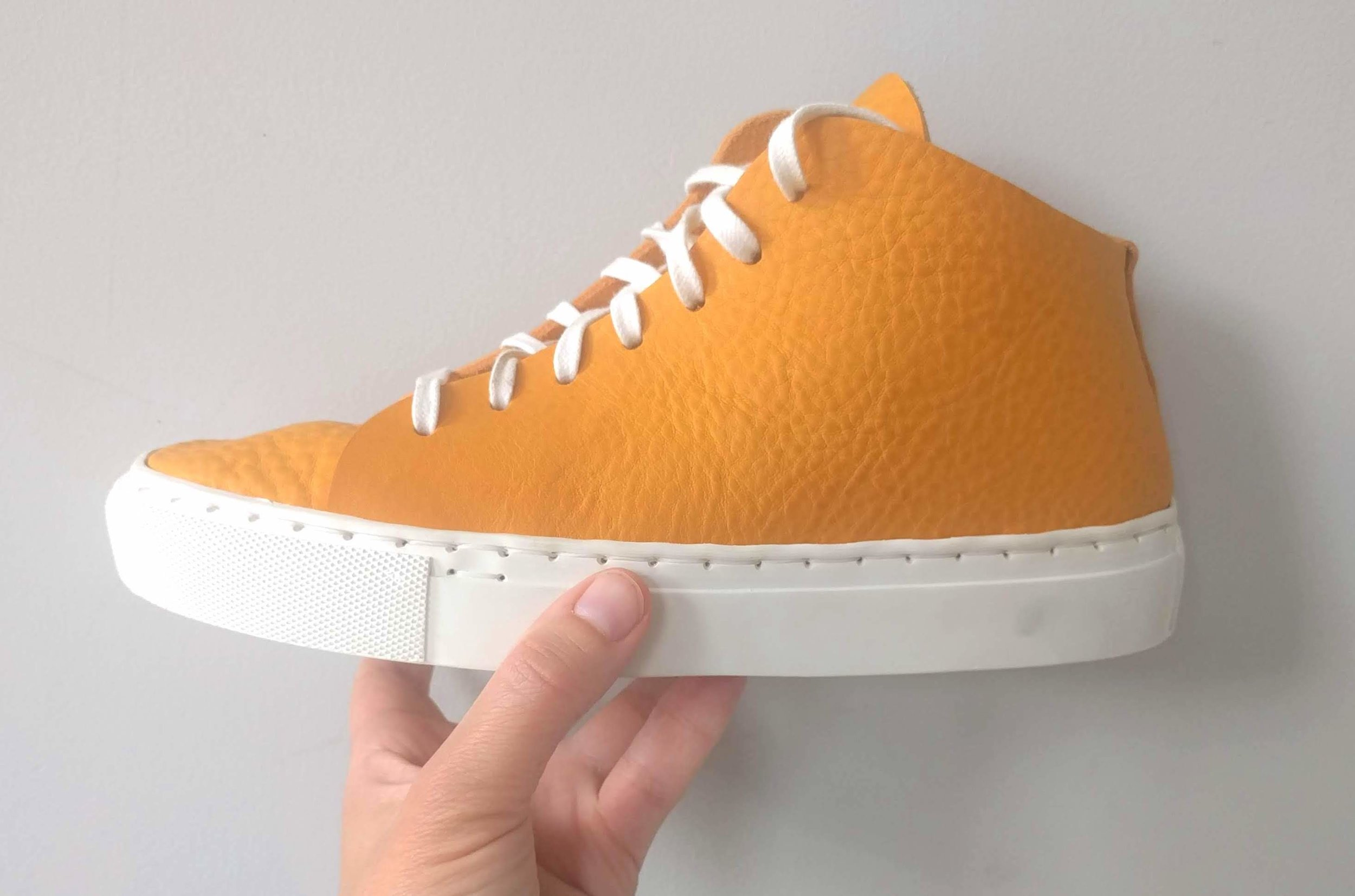 Make your own leather sneakers - 6 hours£145 includes all materials