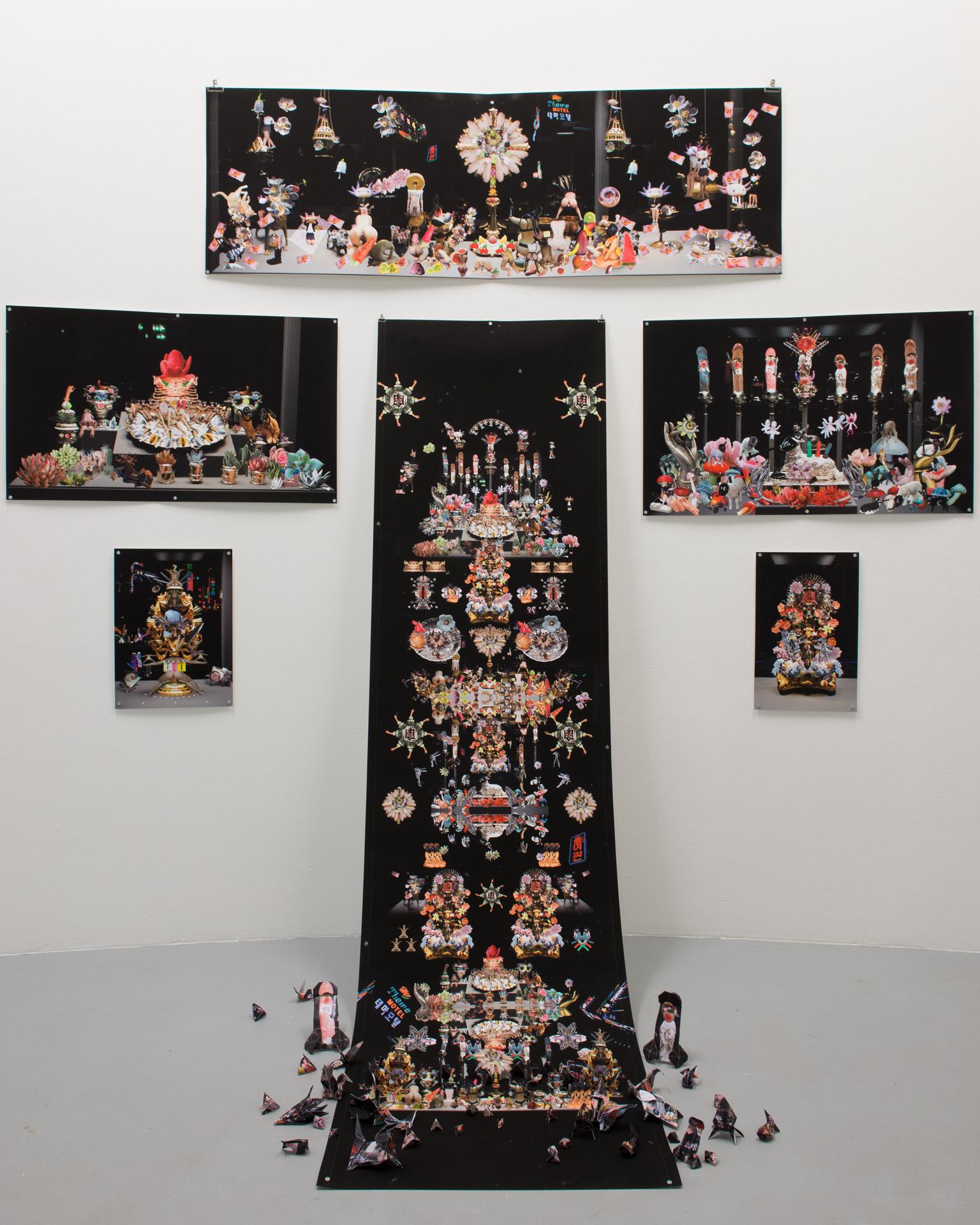 Agnus dei qui tollis peccata mundi_2016_installation at BAK, Utrecht, the Netherlands