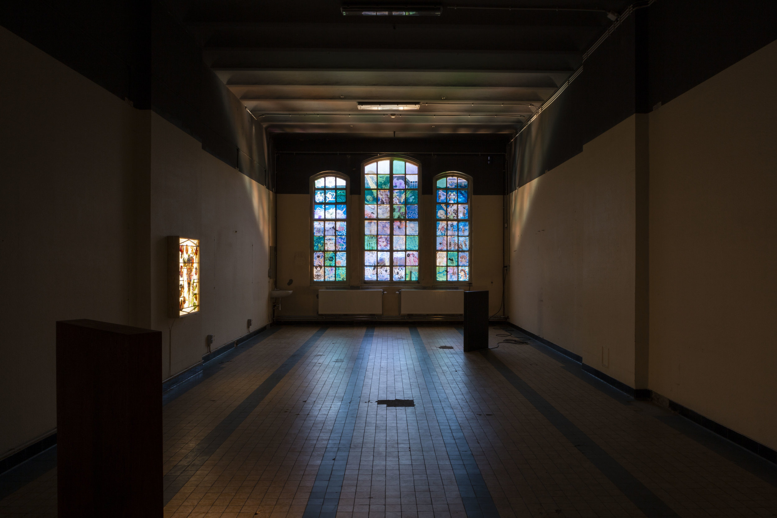 Exhibition view at HISK_Photo©Ingel Vaikla