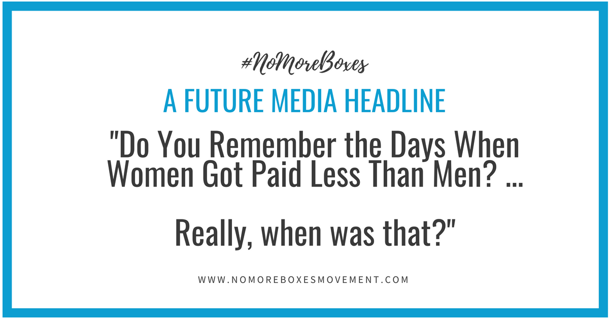 """Do You Remember the Days When Women Got Paid Less Than Men?… Really, When Was That?"""