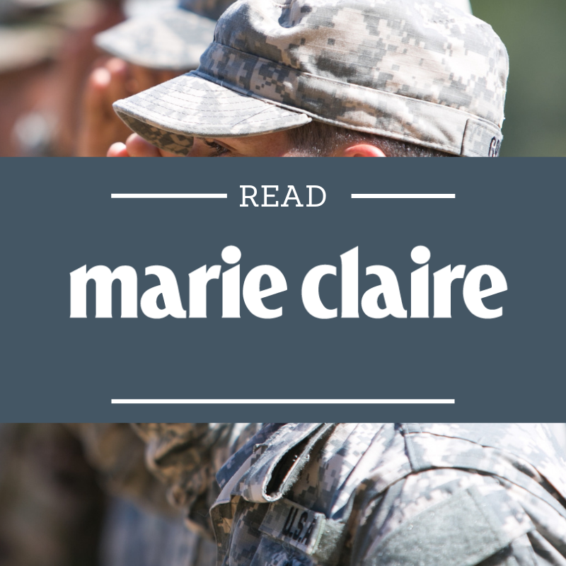 More than 380,000 women have served in Iraq and Afghanistan, and about 1 in 5 of them return with PTSD. Read how these women transformed their mindset at BCR made in Marie Claire.   Read more here…