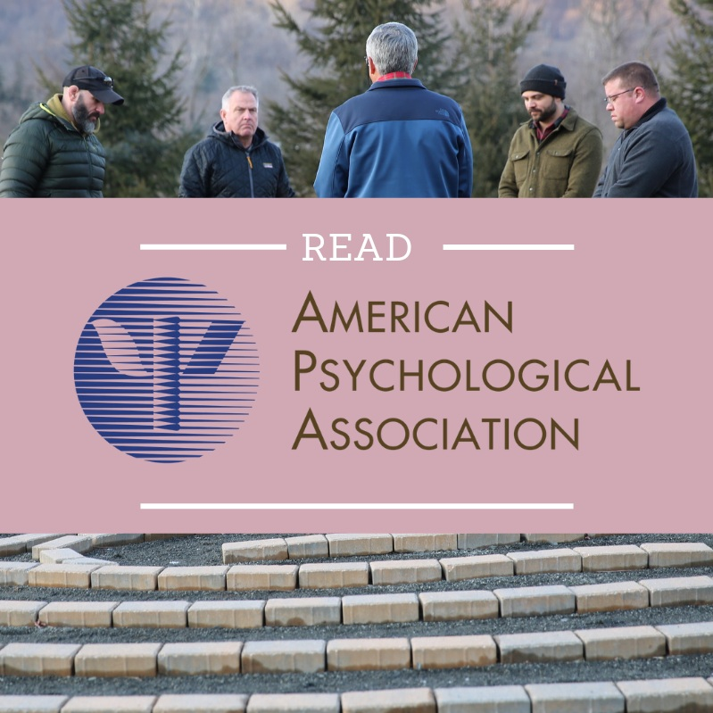 BCR's efforts were highlighted on page 6 of the  The Military Psychologist  where Brett Moore and Richard Tedeschi discuss our methods and the benefits of our programs.   Read more here…