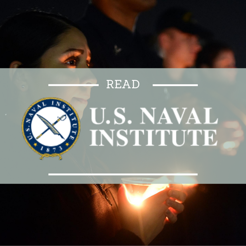 Read Ken Falke's article in the U.S. Naval Institute's magazine, Proceedings, where he talks about suicide prevention and what leaders, organizations, and people need to do to stop suicide.    Read more here…