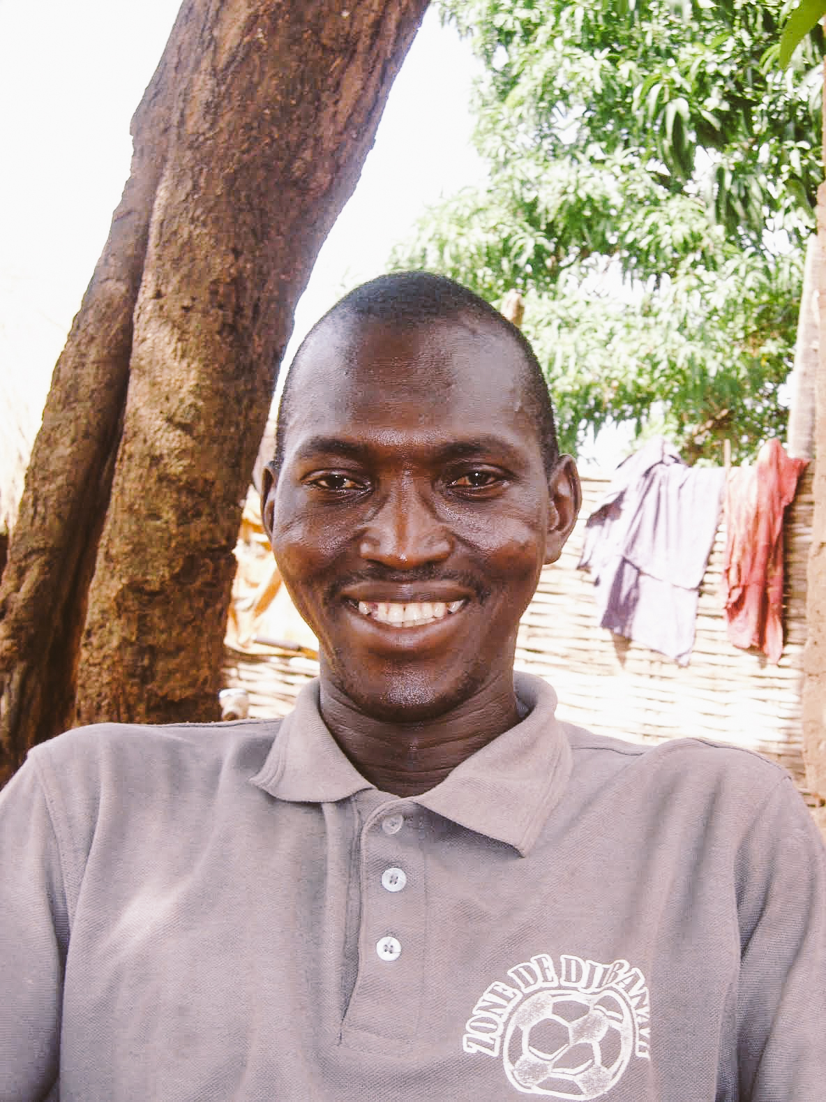 Mamadou Gassama - Farmer along SFL Road #10, Djibanar to Bafata