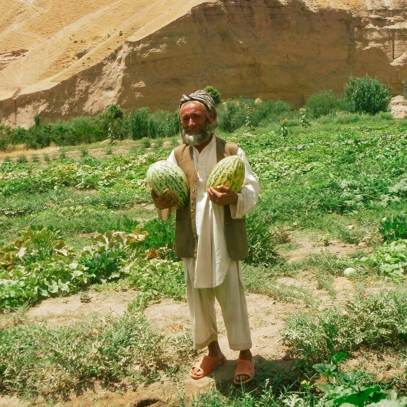 Adbul, a farmer from Pala.