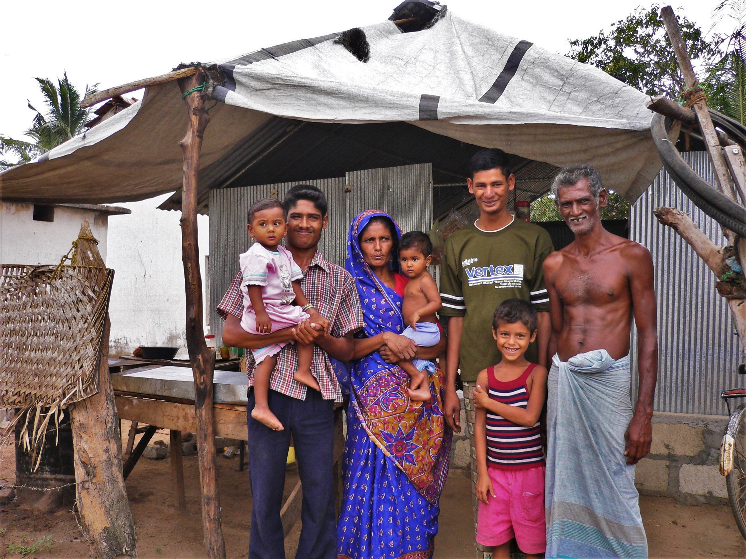 Samad and his family