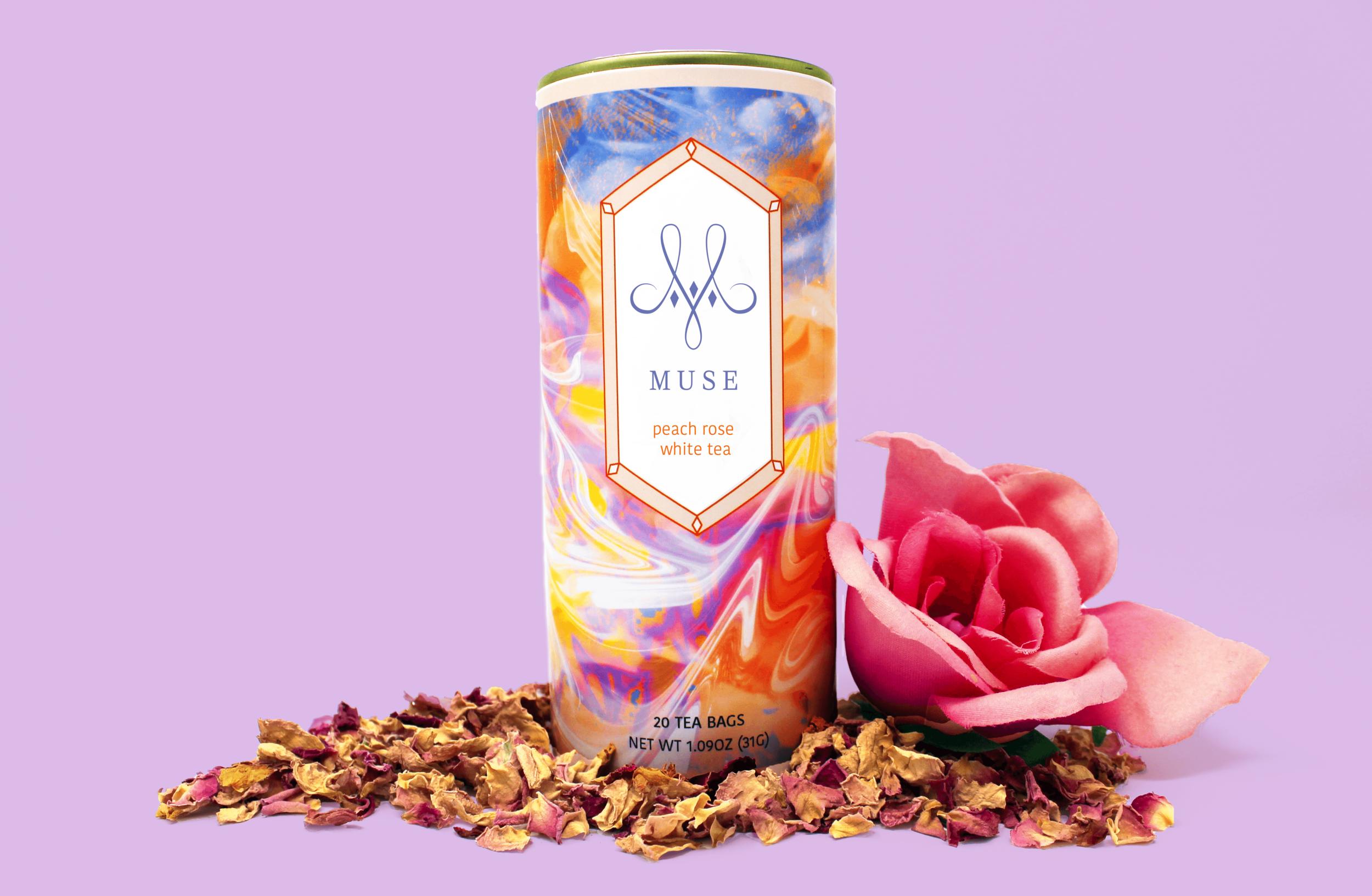 Peach Rose White Tea