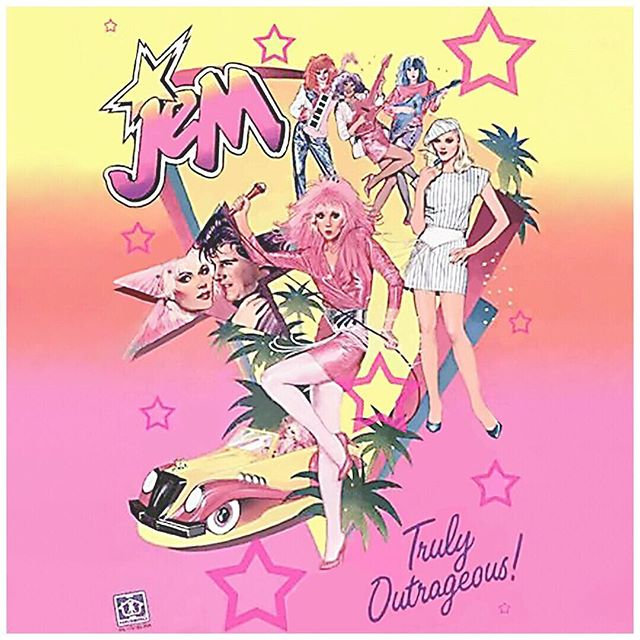 Who remembers Jem? Man, I loved Jem! Used to fantasize about playing in a girl band and now I do! #venustuneslive #ddd #girlsthatrock #youthsentiment #jem #band #fantasy #cometrue #artist #singer #mc #ladeejay
