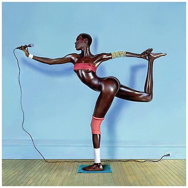 Tried pilates this week. #inspiredby #flexible #killerbody #gracejones #kitty #workthat #core #power #createspace #body #feelgpod #lookgood #chickonamission #motivated #me #artist #afrobeats #pop #rnb