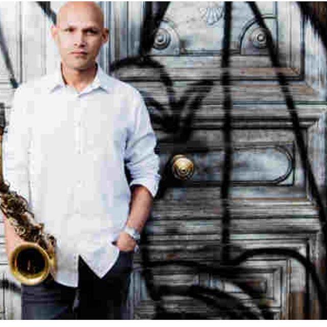 "September 1st with the maestro Miguel Zenon ""Latino-America Unida"" ft. @antoniodrums1 / @ryckz / @davidvirellespiano at the @chicagojazzfestival"