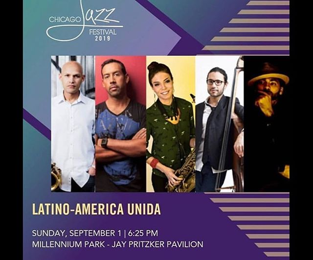 This sunday at the @chicagojazzfestival ... really looking forward to this😁