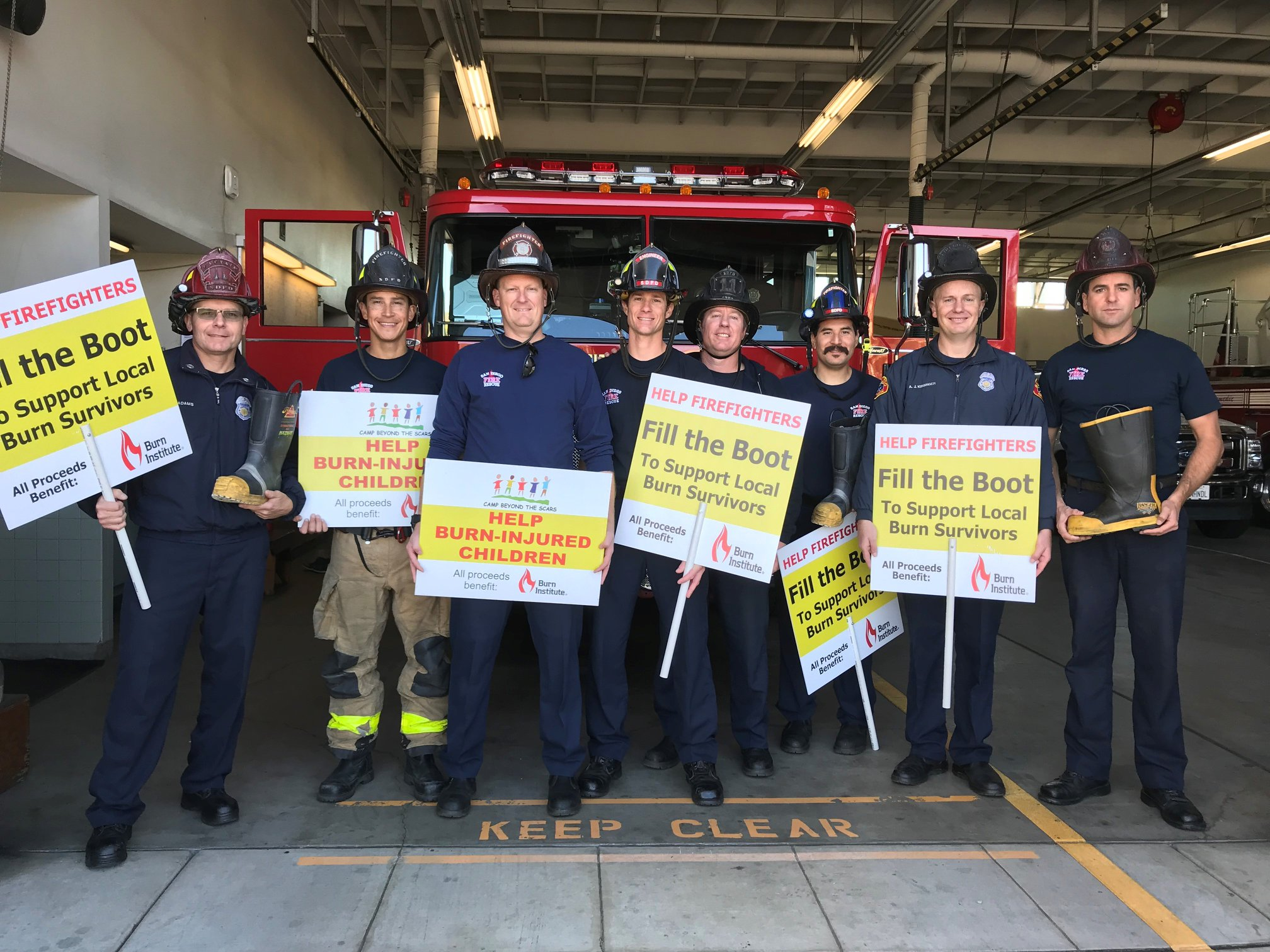 SDFFCU Firefighter Boot Drive