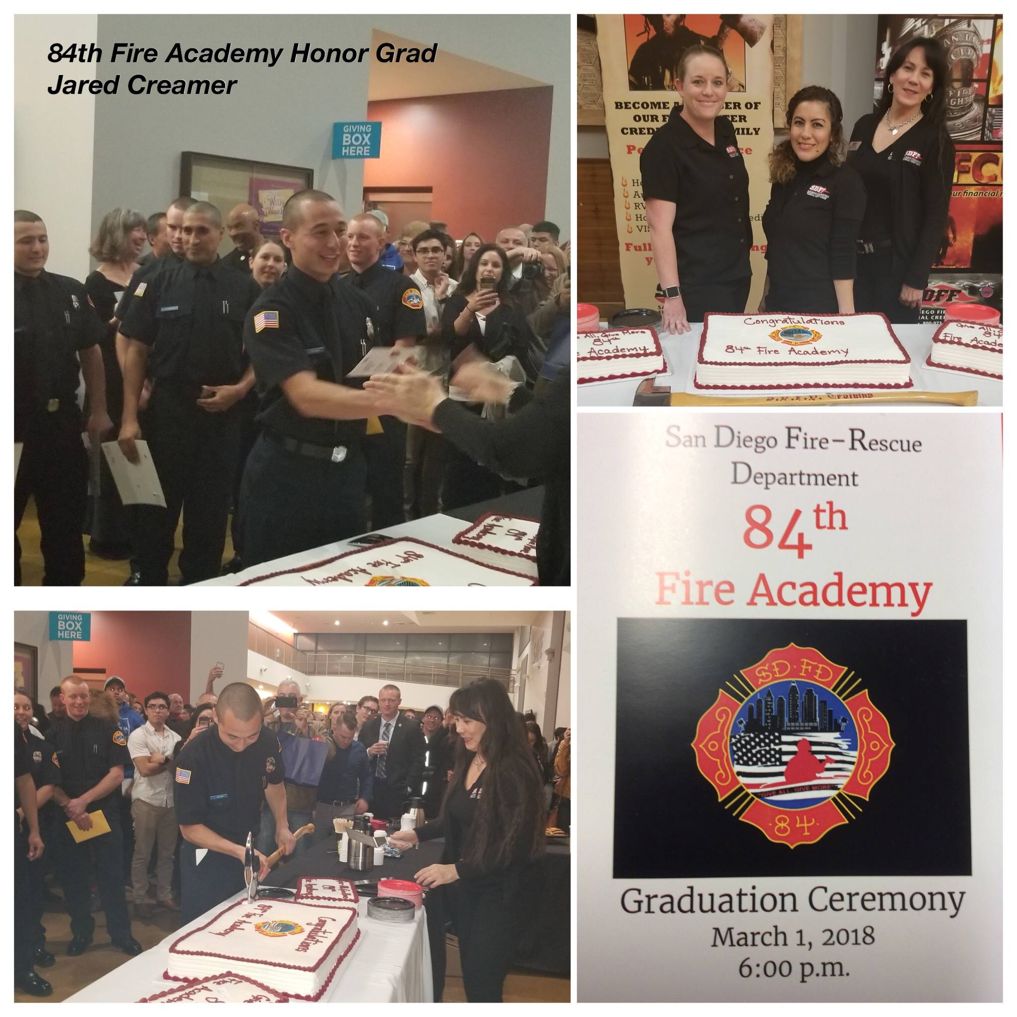 84th Fire Academy Graduation