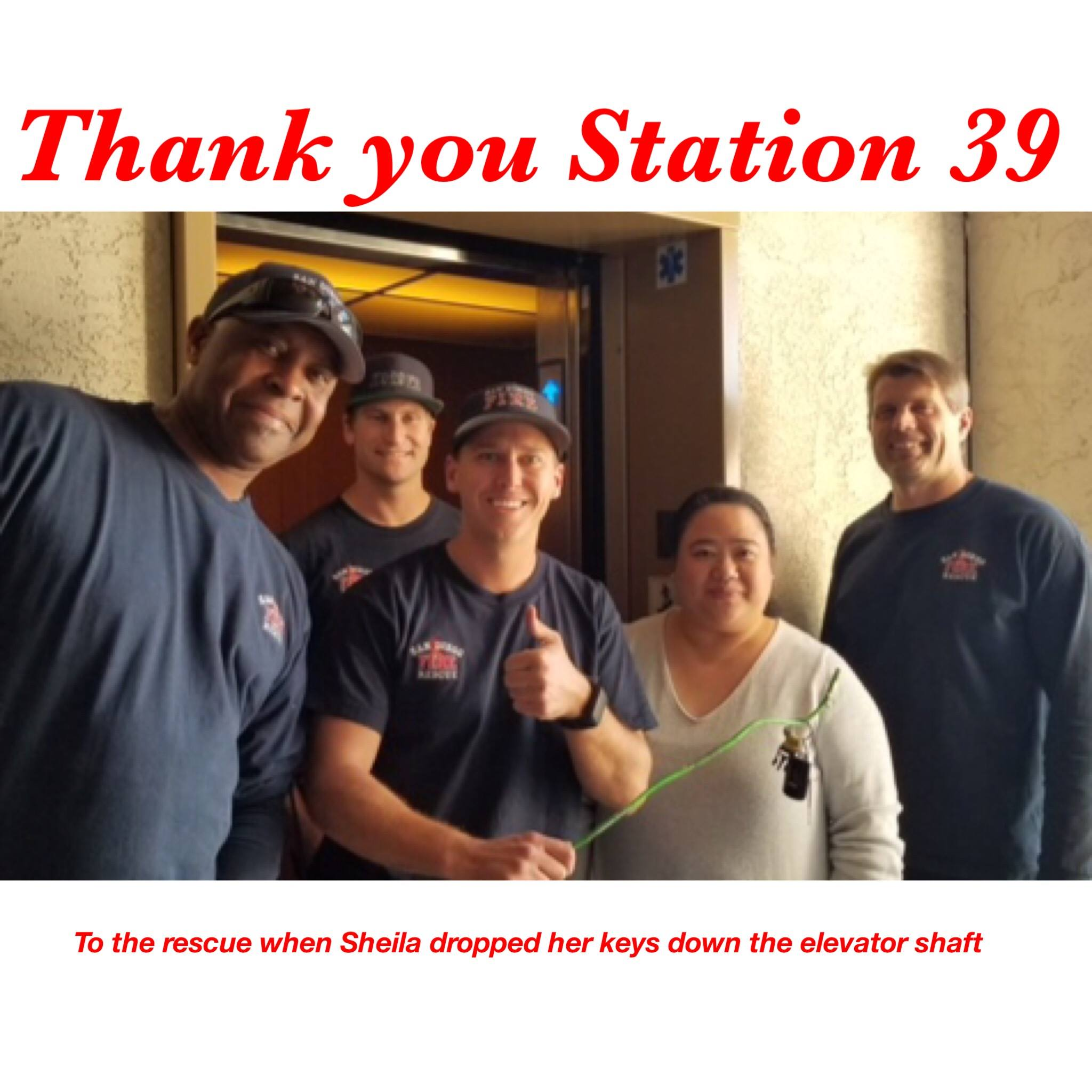 Thank You SDFD Station 39