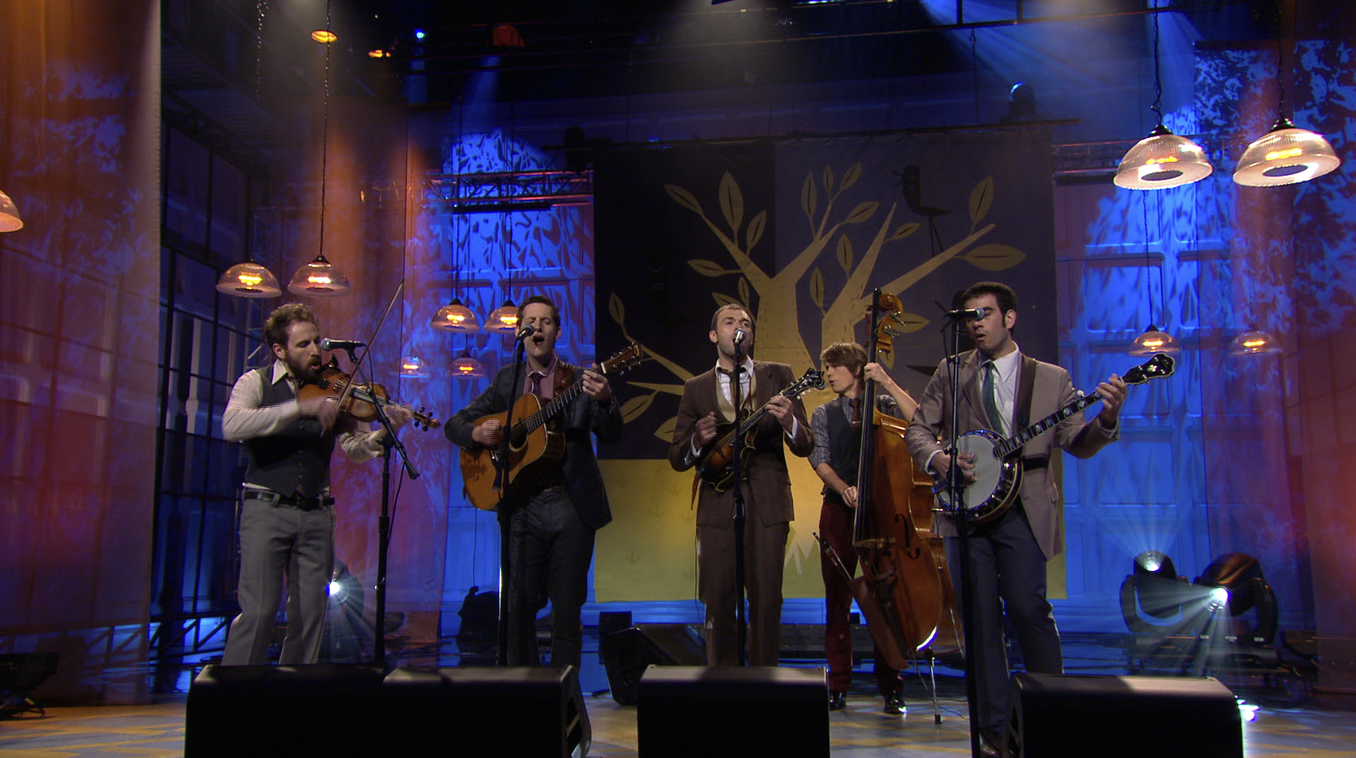 Punch Brothers on Leno