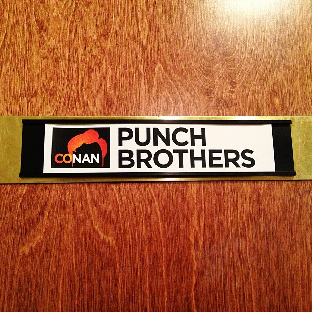 Punch Brothers on Conan
