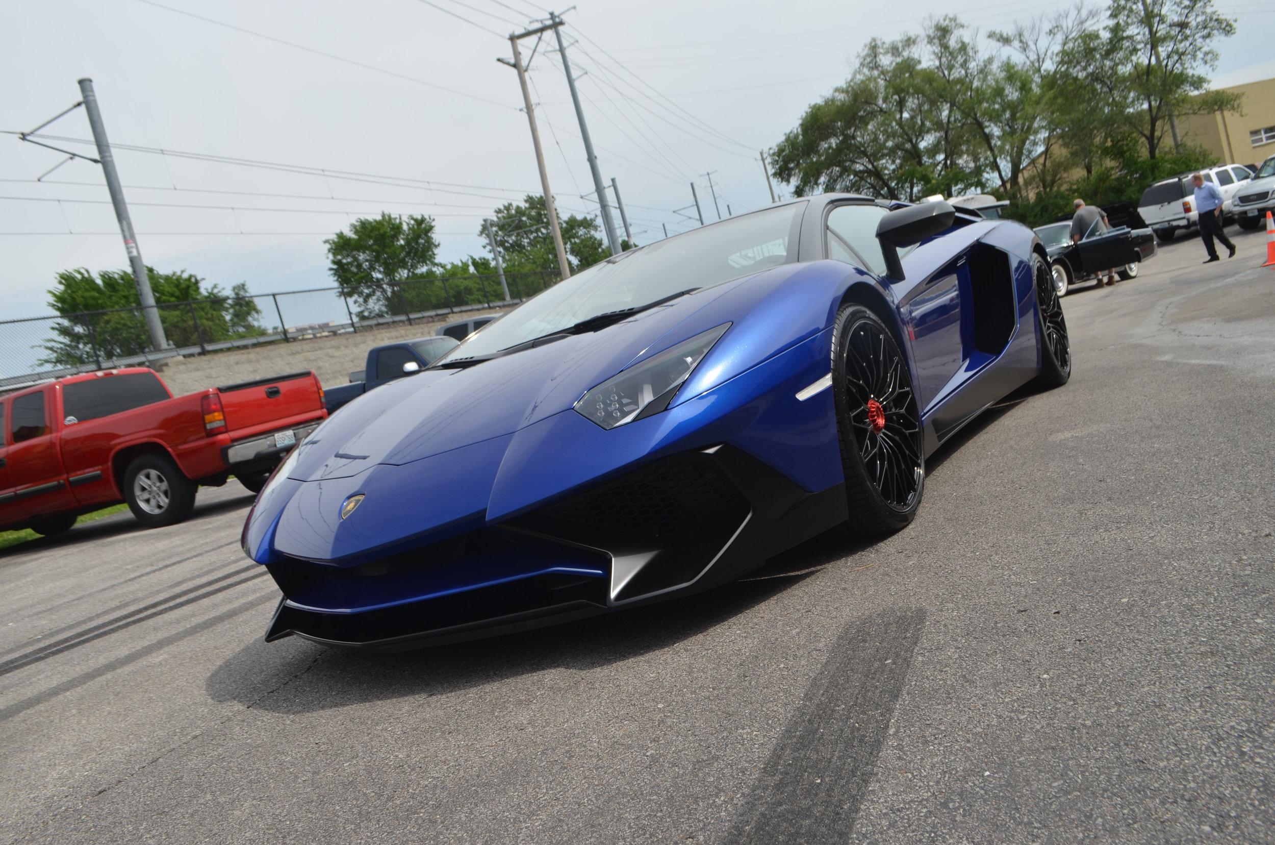 Lamborghini Aventador SV Roadster: Full Body PPF