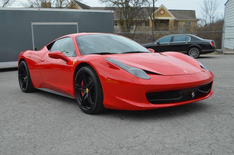 Ferrari 458 Italia: Track Pack, CQ FINEST Reserve