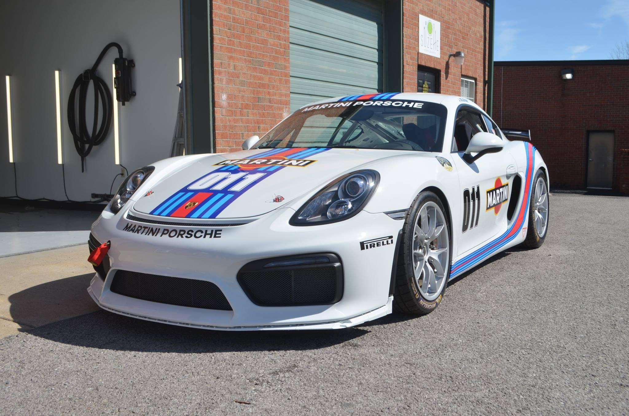 Porsche Cayman Clubsport: Track Pack PPF