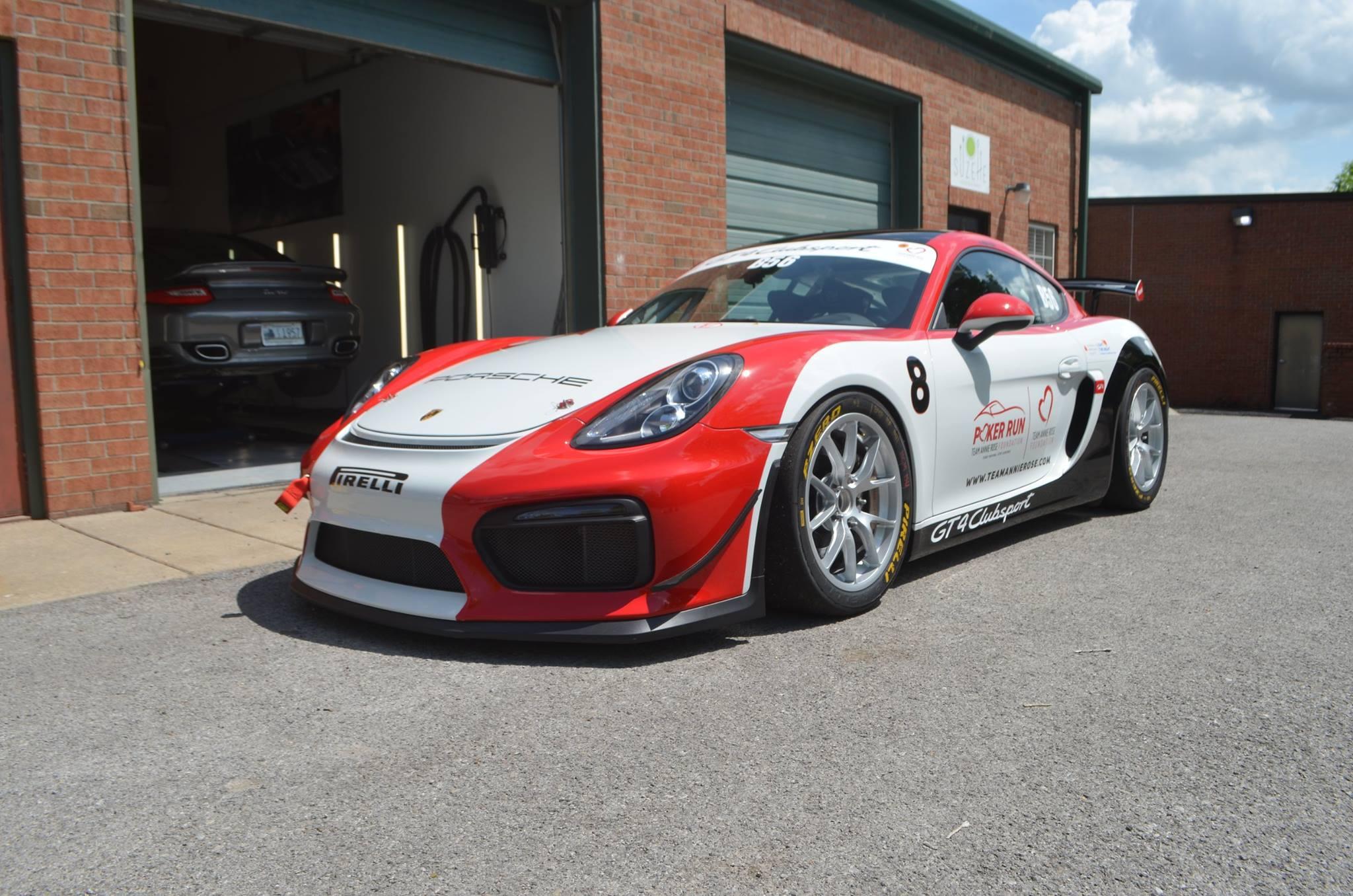 Porsche Cayman Clubsport: Full Body PPF