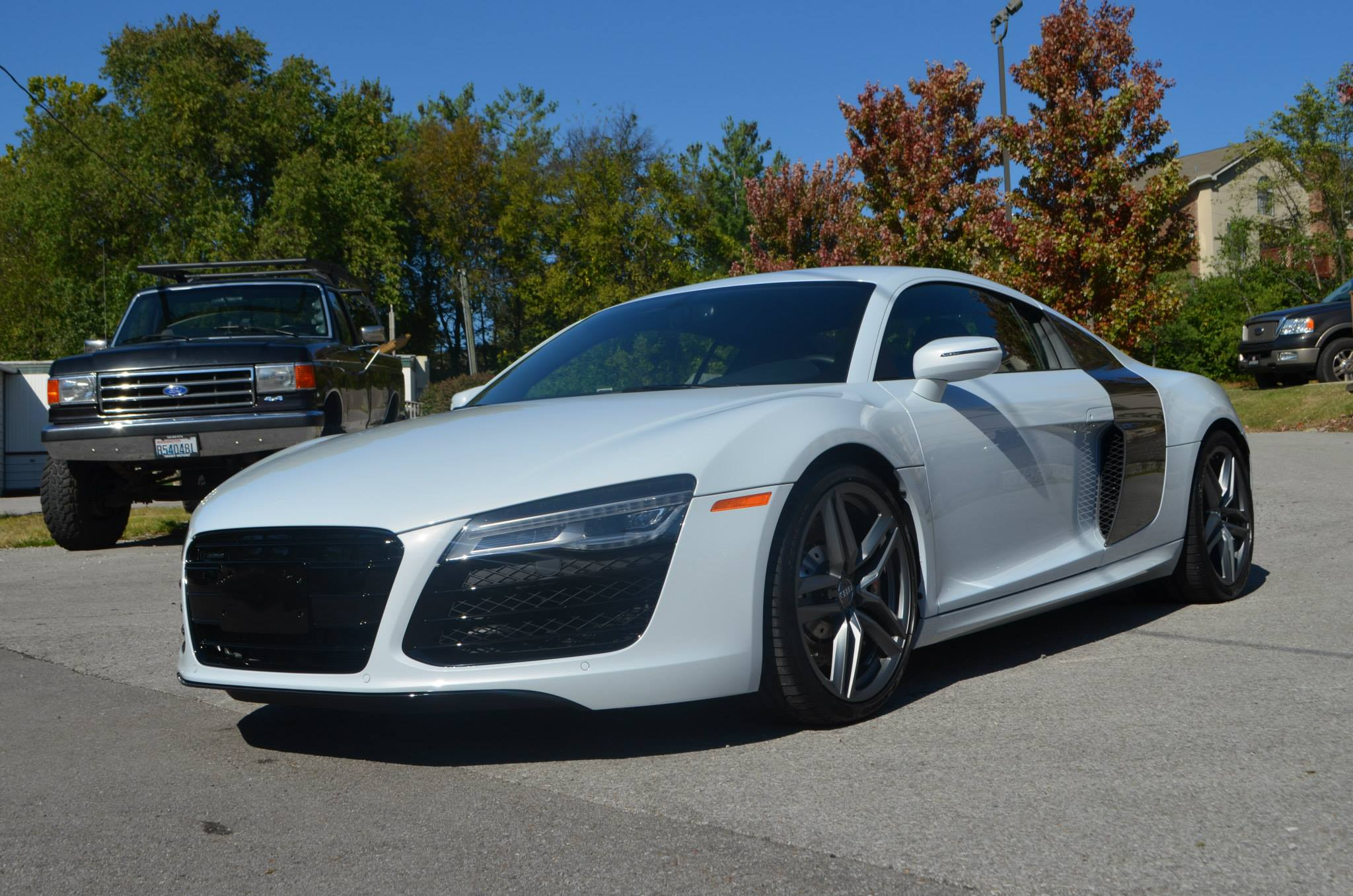 Audi R8 V10 Manual: Track Pack PPF, CQ FINEST Reserve
