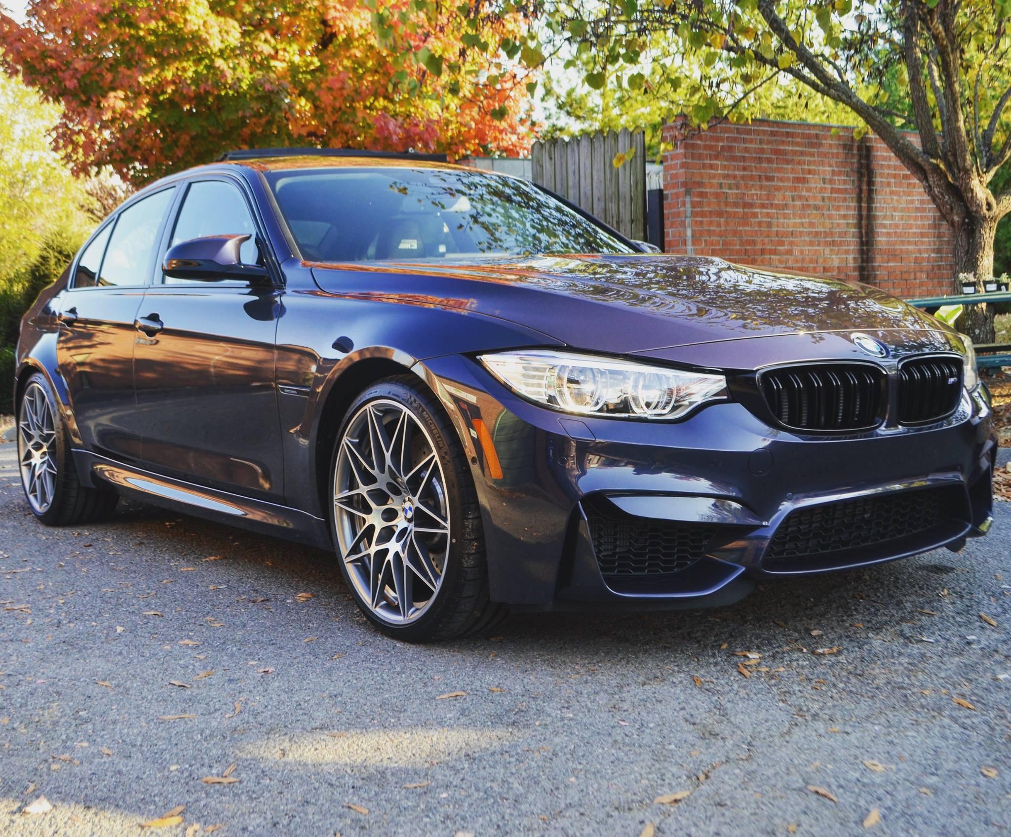 BMW M3 JAHRE: Track Pack PPF