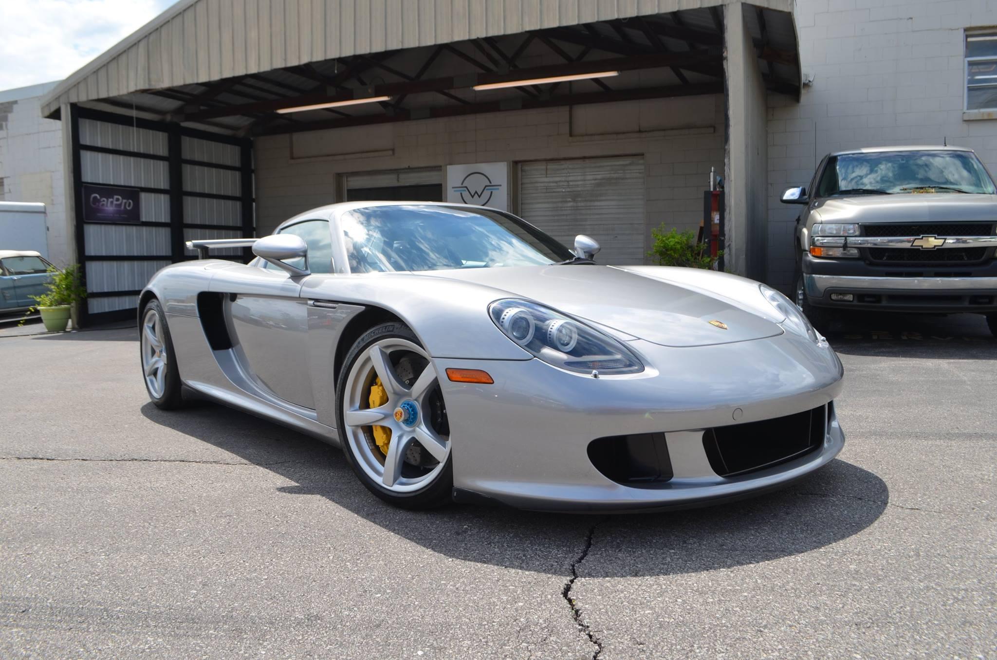 Porsche Carrera GT: Full Body PPF