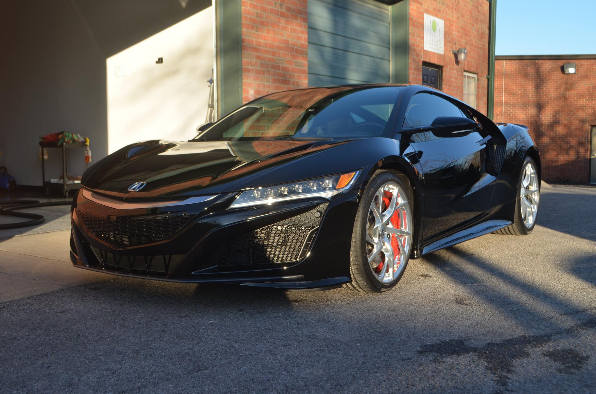 Acura NSX: Front Clip PPF, CQ FINEST Reserve