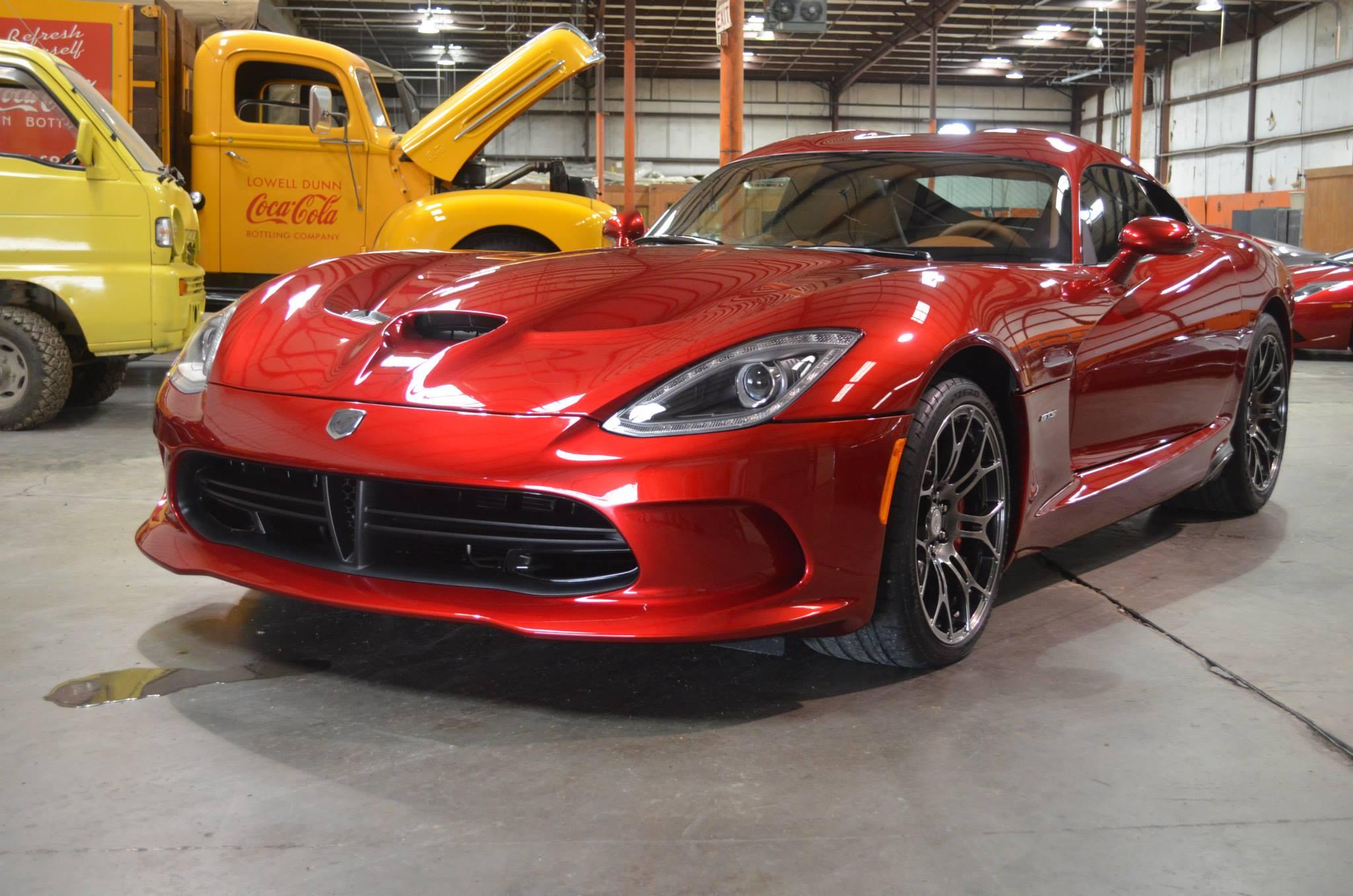 Dodge Viper GTS: Track Pack PPF