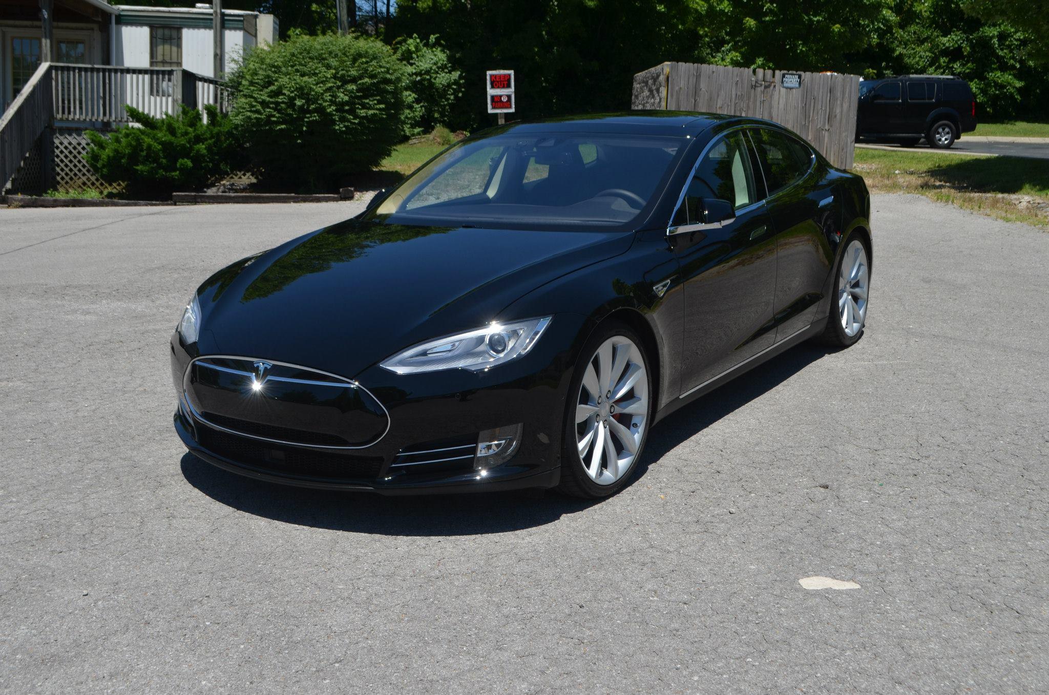 Tesla P85D: Track Pack PPF, CQ FINEST Professional